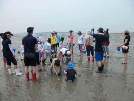 갯벌생태교육