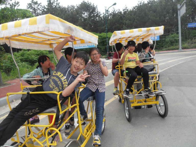 네발자전거체험